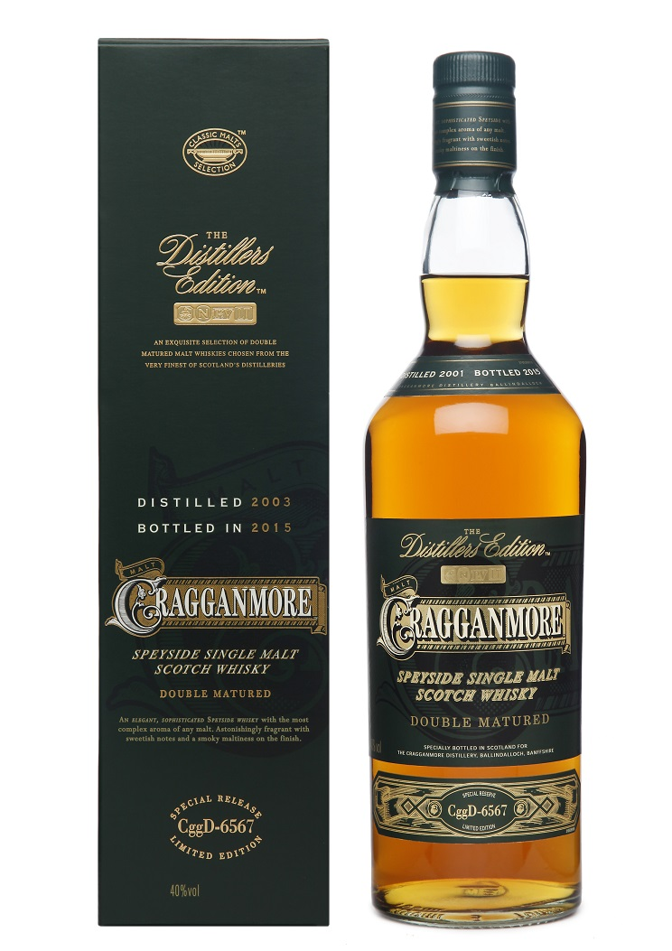 Cragganmore Distillers Edition 2015 Whisky