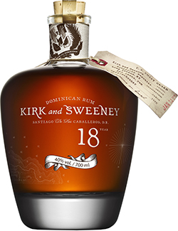 Kirk & Sweeny 18 Jahre Dominican Rum