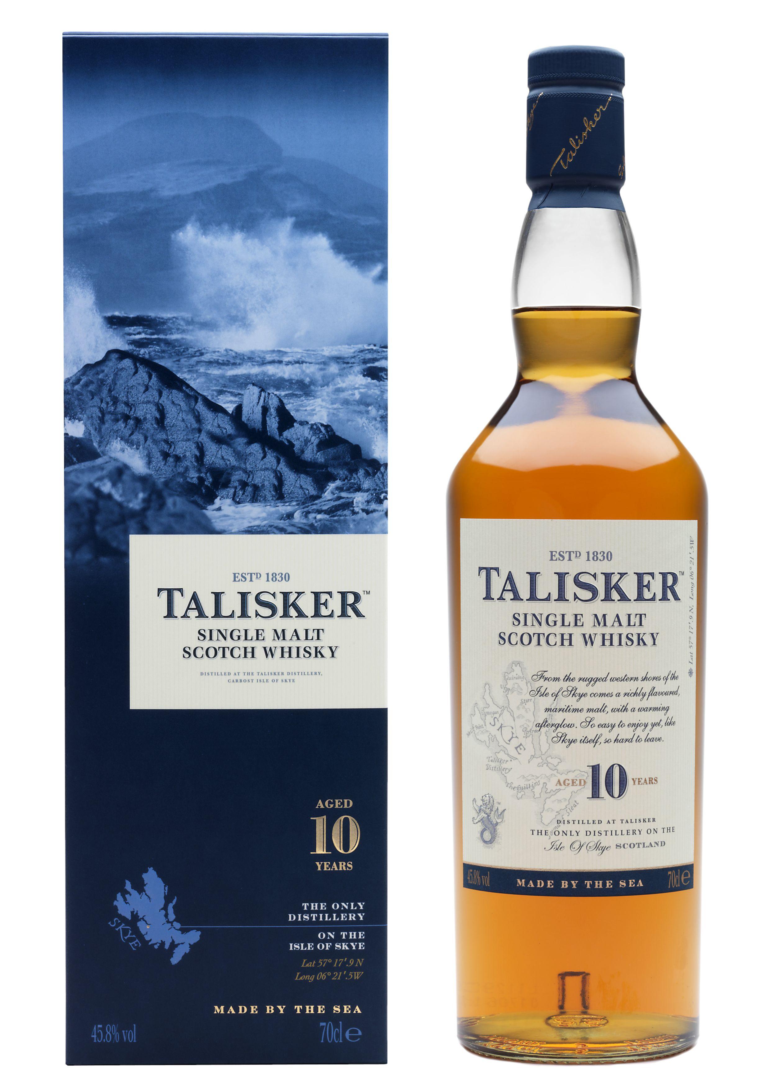 Talisker 10 Jahre Single Malt Whisky