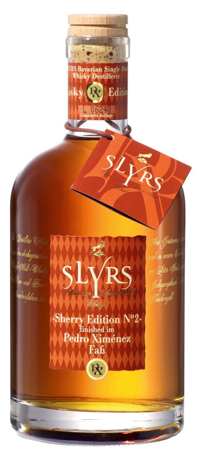 Slyrs Whisky Pedro Ximenez Edition