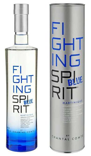 Fighting Spirit Blue Rum Chantal Comte