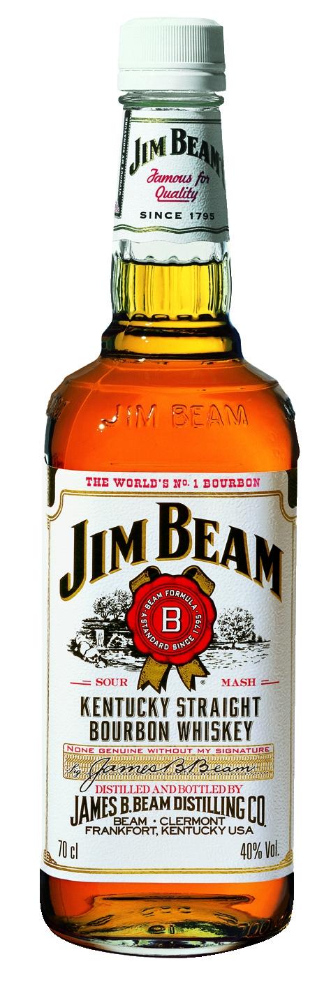 Jim Beam White Label Whiskey