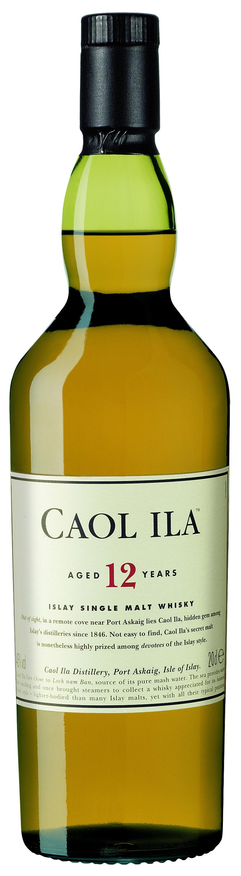 Caol Ila 12 Jahre Whisky Kleinflasche