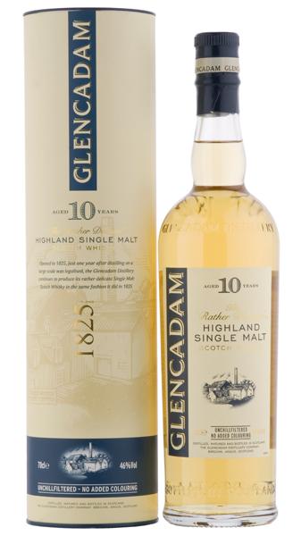 Glencadam 10 Jahre Whisky