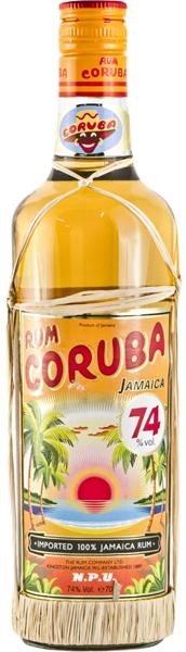 Coruba Rum 74 Overproof