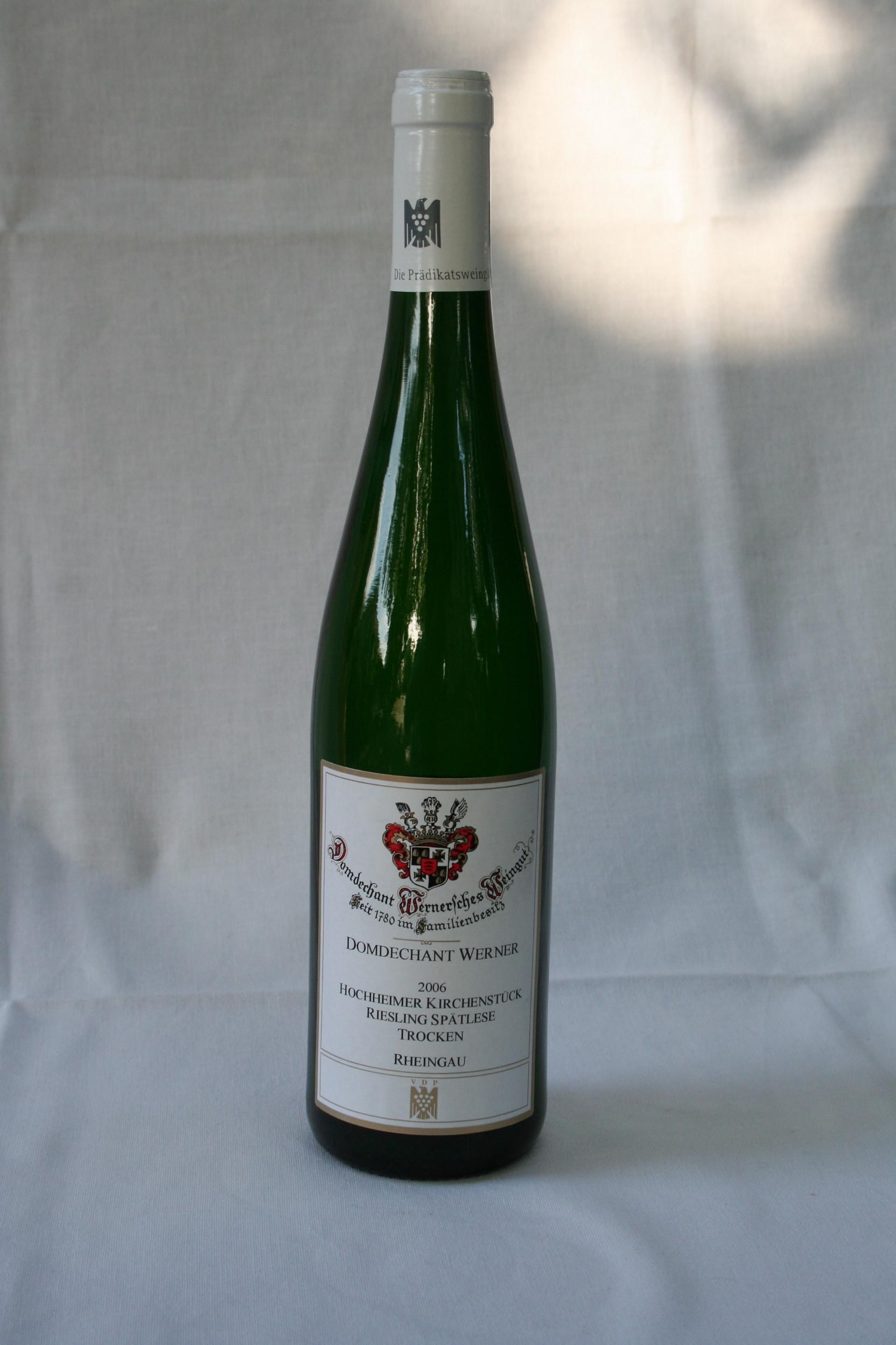 Domdechant Werner Hochheimer Domdechanay Riesling Spätlese