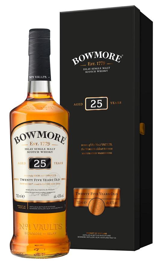Bowmore 25 Jahre  Whisky
